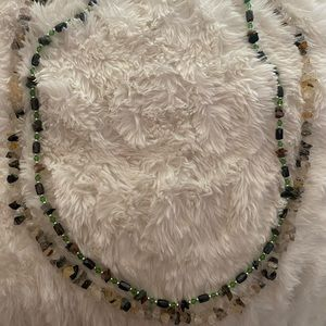 Jewelry - Natural stone necklace/bracelets!